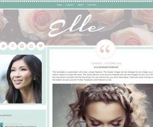 Elle Blogger Template by Envye
