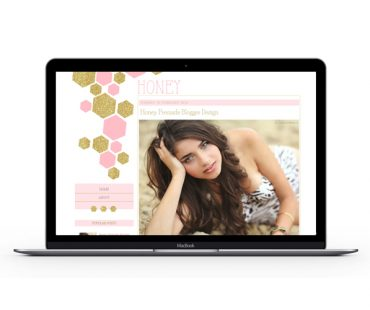 Honey Blogger Template by Envye