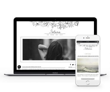 Iolana Blogger Template by Envye