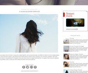 London Blogger Template by Envye