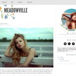 Meadowville Blogger Template by Envye