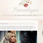 Penelope Blogger Template by Envye
