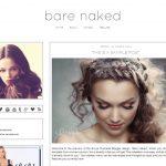 Bare Naked Blogger Template by Envye