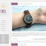 Cinch Blogger Template by Envye