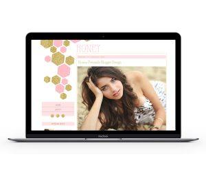 Honey Blogger Template by Envye