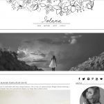 Iolana Blogger Template by Envye