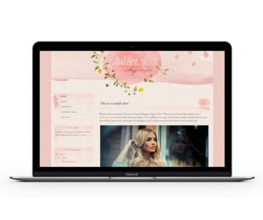 Juliet Blogger Template by Envye