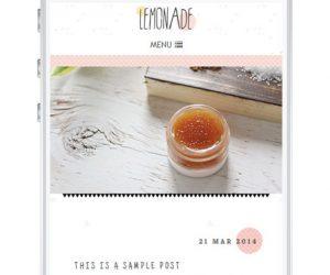 Lemonade Blogger Template by Envye