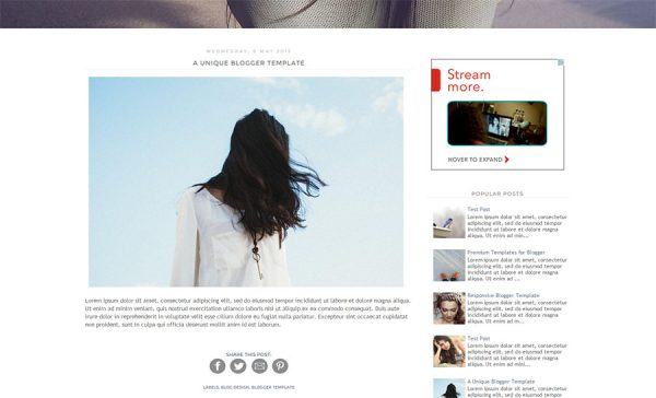 London Blogger Template by Envye