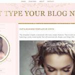 Olivia Blogger Template by Envye