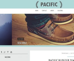 Pacific Blogger Template by Envye