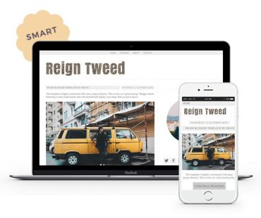 Reign Tweed Blogger Template by Envye