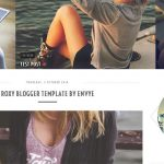 Roxy Blogger Template by Envye