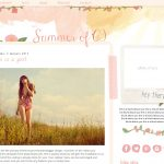 Summer of '69 Blogger Template